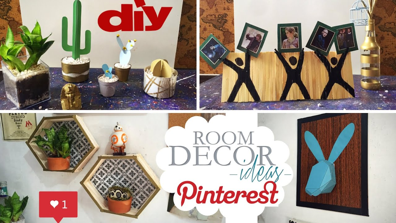 diy decora o de quarto pinterest room decor 5. Black Bedroom Furniture Sets. Home Design Ideas