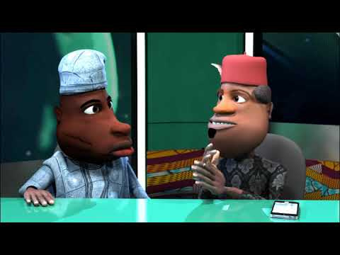 Download Funny Nigerian Cartoon Comedy: Ichie Becomes a Pastor (N-Report) (C) Blackhouse Animation Studios