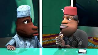 Funny Nigerian Cartoon Comedy: Ichie Becomes a Pastor (N-Report)