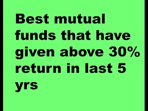Best Mutual fund to buy/ Mutual funds that have given return of above 30% !!