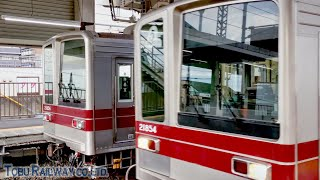 【東武 20000系】残りわずか 朝から大活躍 嬉しい並びの東武鉄道20000系 2019.12.1