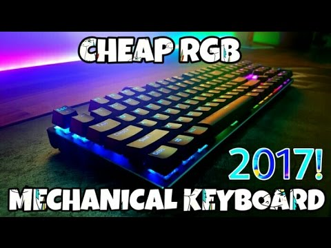 cheap rgb mechanical keyboard 2017 mechanical eagle z 88 youtube. Black Bedroom Furniture Sets. Home Design Ideas