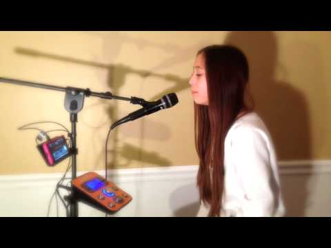"11 year old Carolyn performs ""Titanium"" on her #Singtrix [HD]"