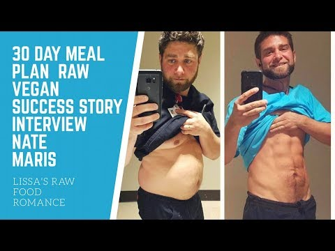 VLOGMAS 2 || INTERVIEW WITH SUCCESS STORY NATE MARIS || HEALTHY RAW FOOD VEGAN || DIET WEIGHT LOSS
