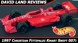 1998 Hot Wheels Christian Fittipaldi Newman/Haas Kmart Swift 007i Review