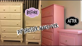 DIY Dresser Makeover | Tutorial // Liz Rivera