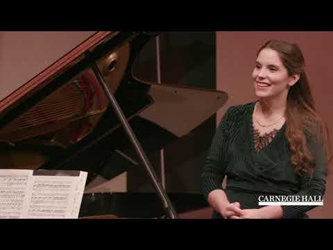 """SongStudio 2019: Hartmut Höll Master Class: Schubert's """"Die junge Nonne"""""""