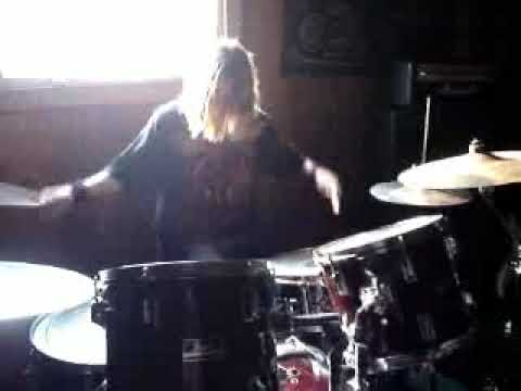 Mike Cotton Drum Solo 14 years old