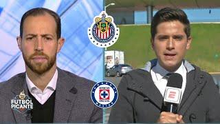 La ACTUALIDAD de Chivas y el Cruz Azul: Macías se perfila para titular vs Juárez | Futbol Picante