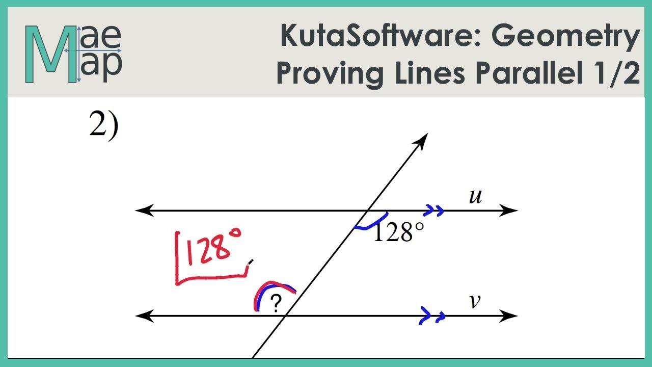 Kuta Geometry Proving Lines Parallel Part 1