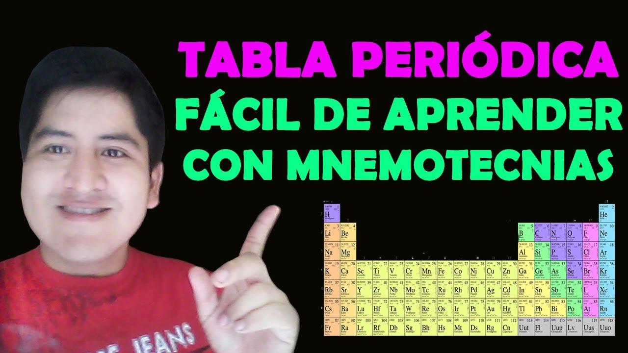 Como aprenderse la tabla peridica completa en 2 minutos con como aprenderse la tabla peridica completa en 2 minutos con mnemotecnias ingeniosas urtaz Choice Image