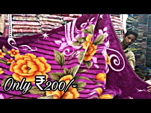 Cheapest Blankets Market [Wholesale/Retail] | Starting from ₹200/- | DELHI | Tushar 51NGH