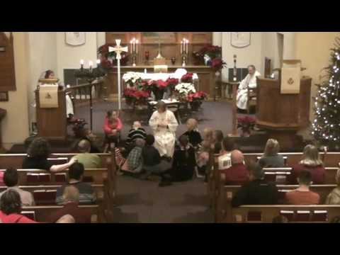Christmas Eve, 2016 - worship at Our Savior's, West Salem, Wisconsin