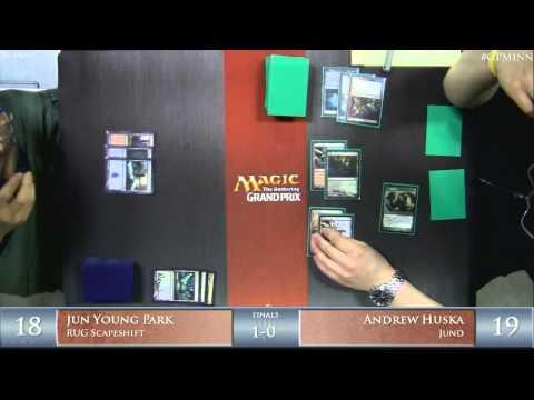 Grand Prix Minneapolis 2014 Finals: Jun Young Park vs. Andrew Huska (Modern)