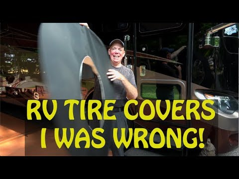 Tire Covers For UV Protection - I Was Wrong! - Magne Shade Tire Covers!!!!