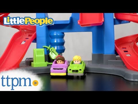 Little People Take Turns Skyway From Fisher-Price