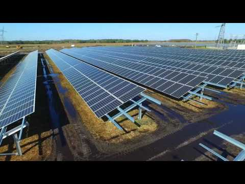 Osceola County Solar Facility Installation Video - See Incredible Aerial Views