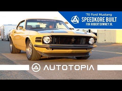 Robert Downey Jr's Custom '70 Boss 302 Mustang built by Speedkore |  AutotopiaLA