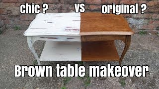 How To Shabby Chic A Coffee Table