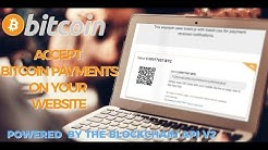 Blockain Bitcoin Payments - using PHP and blockchain API v2