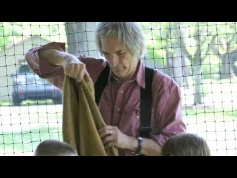Robin Moore Visits Twin Spring Farm Day School
