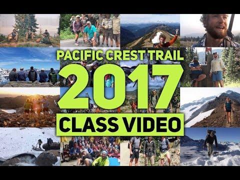 Pacific Crest Trail 2017 Class Video