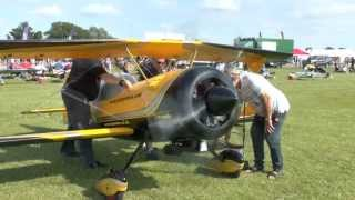 * GIANT RC BIPLANE * Pitts Python (85%) * HD *