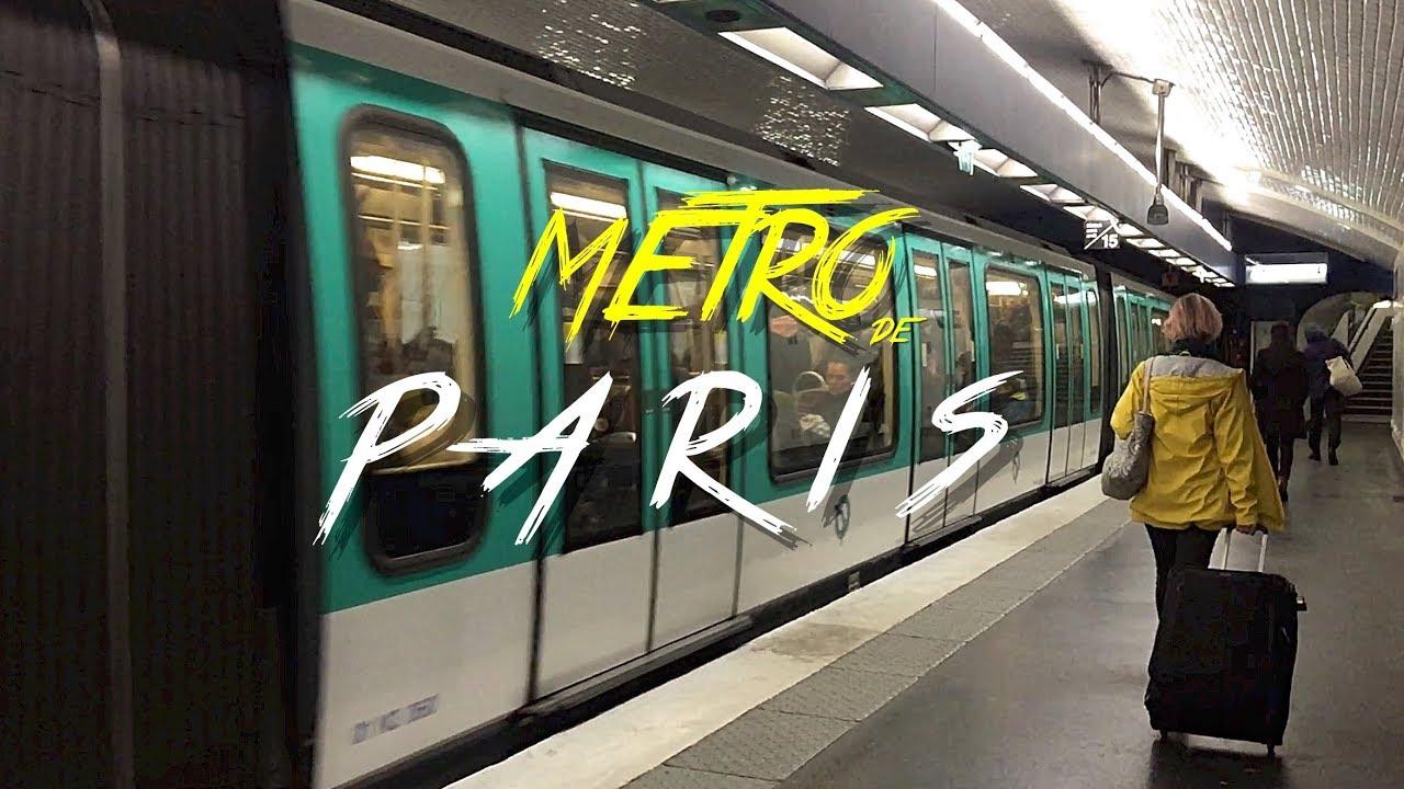 Z życia wzięte #3 - Metro w Paryżu - nagłówek - Francuski przy kawie