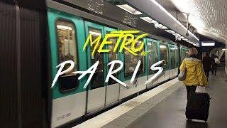 🇫🇷 METRO DE PARIS (RER) & CHARLES DE GAULLE  - FRANCIA #2 - 2017 - Vlog, Turismo