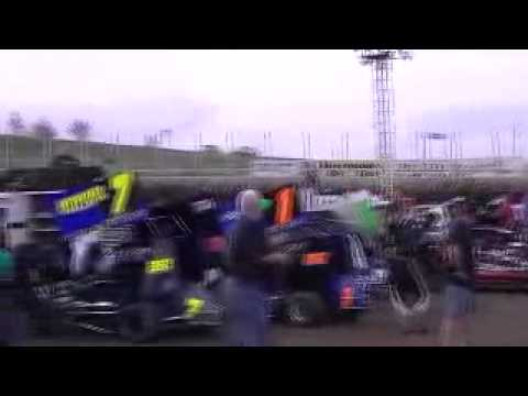 May 25, 2014 Huset's Speedway Heat Race