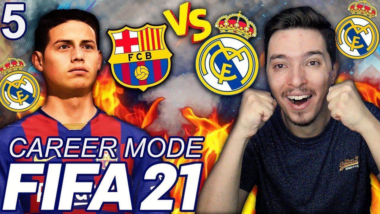 FIFA 21 DOUA EL CLASICO REAL MADRID VS FC BARCELONA SI AFLAM BALONUL DE AUR !!! FIFA 21 ROMANIA