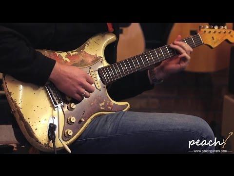 Fender Custom Shop Jason Smith Masterbuilt 64 Strat Relic