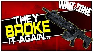 They Broke the FiNN & Vehicles Again... (Warzone Season 4 Hiccups)