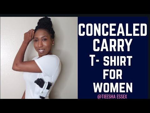 25a6685e3446a THE BEST CCW CONCEALED T-SHIRT HOLSTER FOR WOMEN   MEN