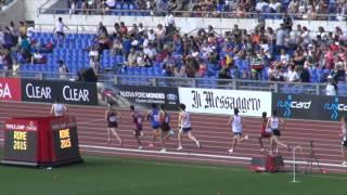 1500 mt Junior Golden Gala 2015
