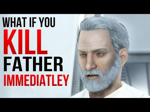 Fallout 4 - What Happens if you KILL Father IMMEDIATELY?
