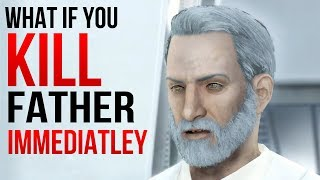 Fallout 4 - What Happens if you KILL Father IMMEDIATELY
