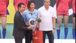 ไทย - จีน : AVC U23 2015 [Final] พิธีมอบรางวัล