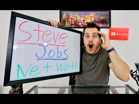 Steve Jobs Net Worth if still alive and never sold Apple shares. Over 100 BILLION!