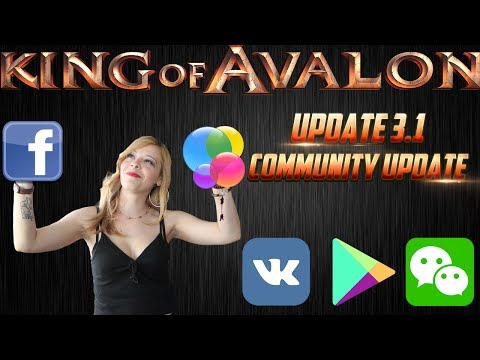King of Avalon - Update 3.1 Community by Lady of Avalon - 동영상