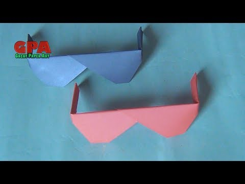 How to make Origami Sunglasses | Paper Sunglasses | Best Origami Sunglasses | Great Paper Art