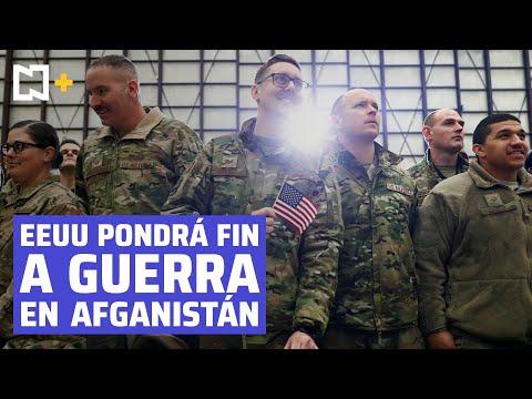 Biden retirará tropas de Afganistán antes del 11-S.