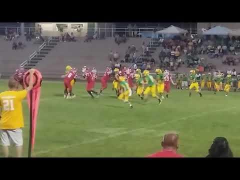 Brennen Robinson #6 Running Back, East Wilkes Middle School 2017