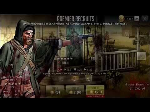 Download Walking Dead Road To Survival, Epic Specialist Rick Opening!!