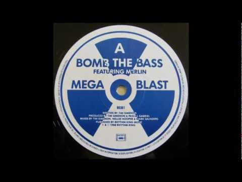 "Bomb the Bass - 01- Megablast (hip hop on precinct 13) Ft.Merlin 12"" edit [1988] (Maxi Megablast)"