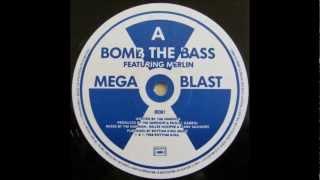 "Bomb the Bass - 01- Megablast (hip hop on precinct 13) Ft.Merlin 12"" edit [1988] (Maxi Megablast)"
