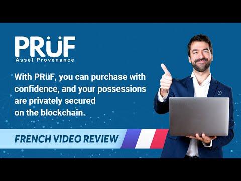 PRüF - La meilleur plateforme de provenance des actifs basé sur la blochaine d'Ethereum