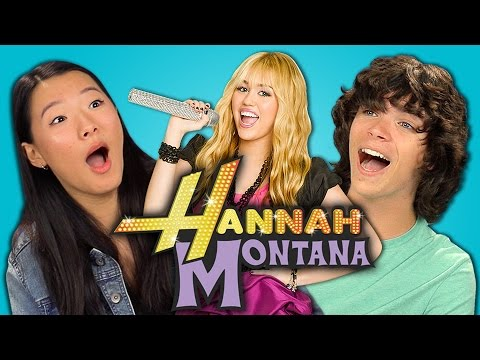 Teens React to Hannah Montana (10th Anniversary)