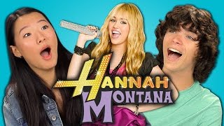 Teens React to Hannah Montana (10th Anniversary)