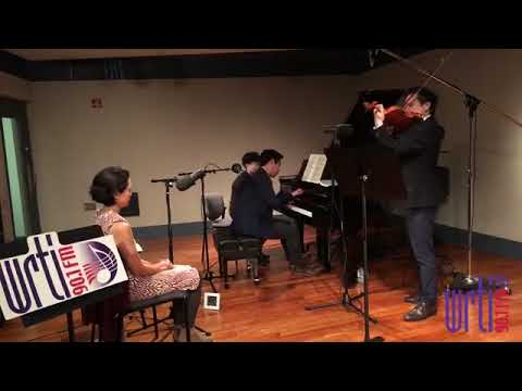 Live from the WRTI 90.1 Performance Studio: Musicians from Astral play Franck's Violin Sonata